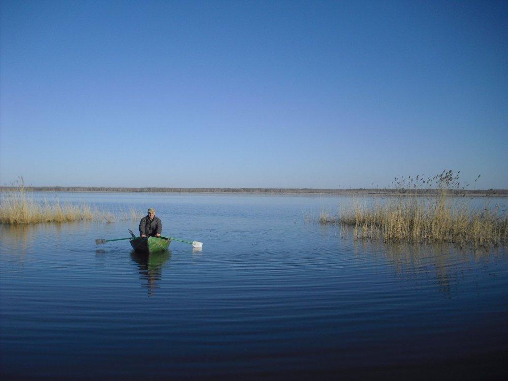 И снова я на своем любимой озере!