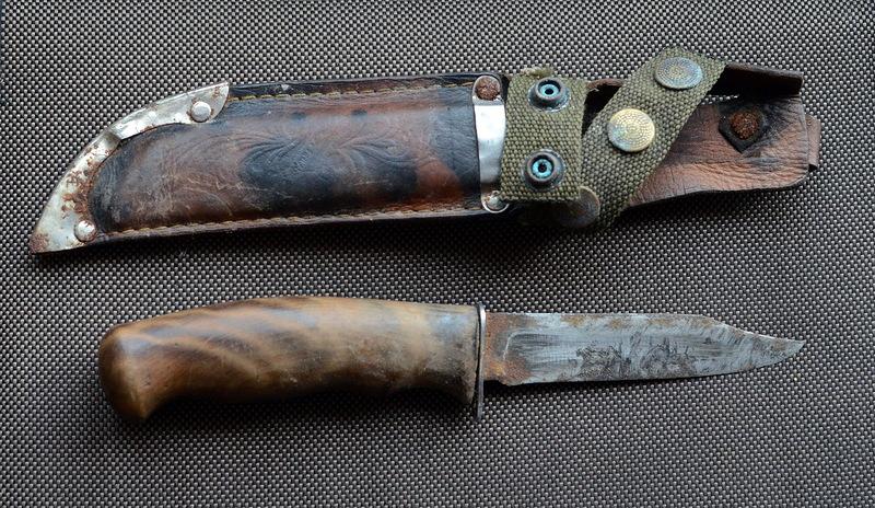 старый ножик