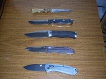 Ножи которыми я пользуюсь.