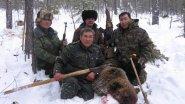 Охота на медведя по зиме! Берлога!