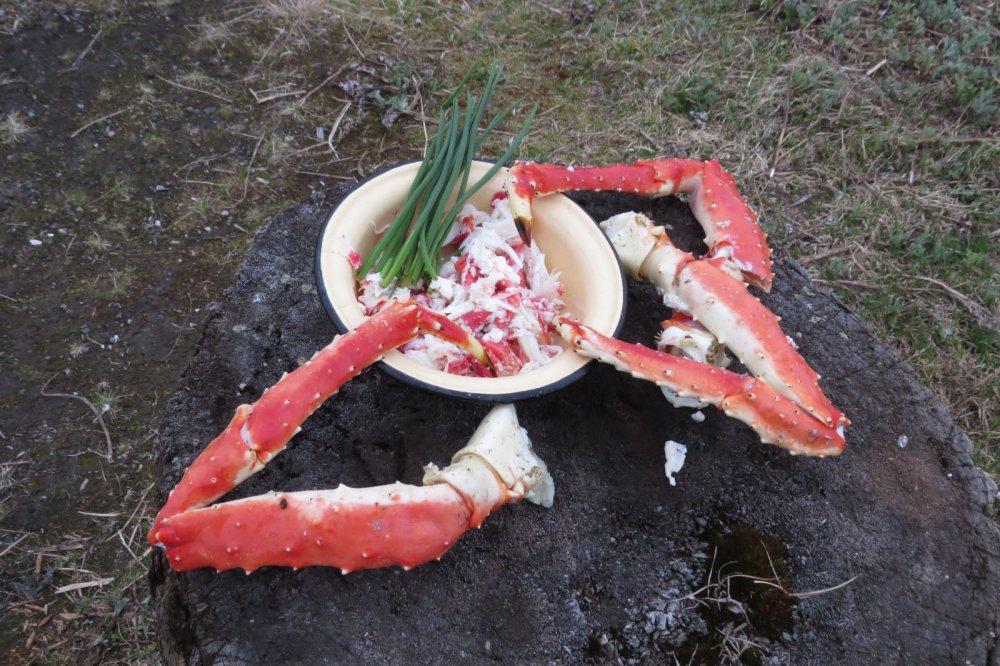 Лёгкий дачный ужин)))