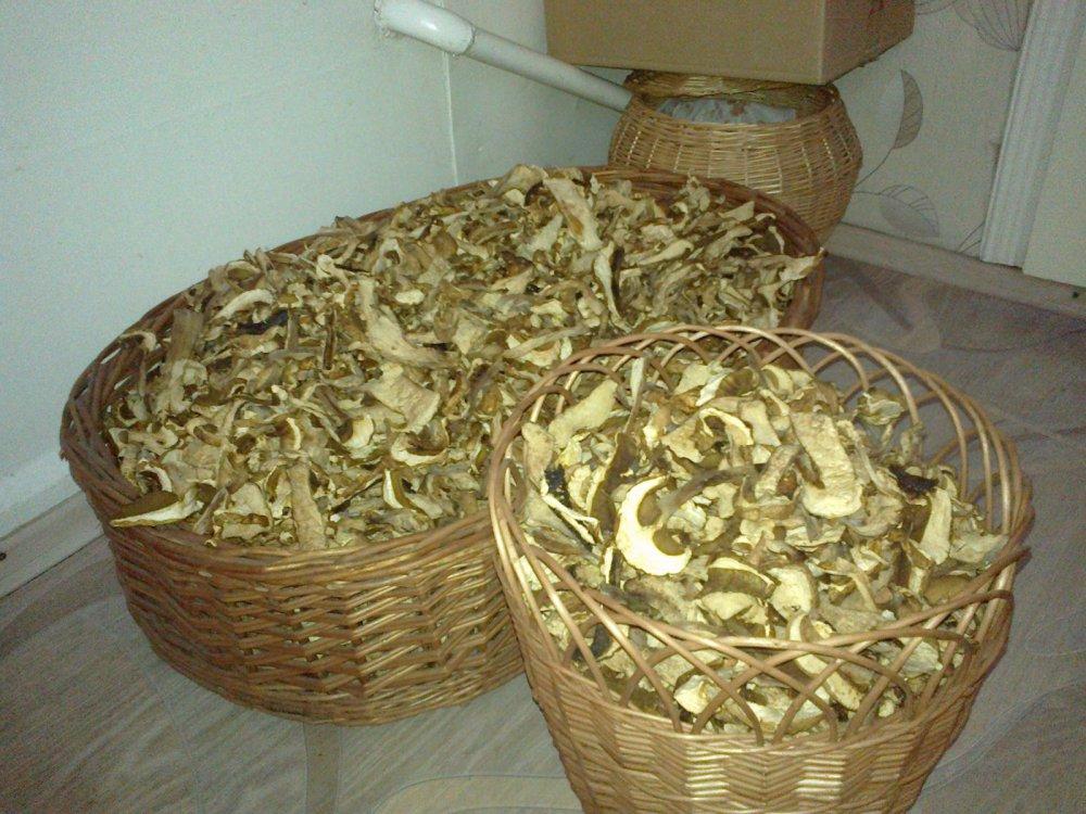 подсушили грибков