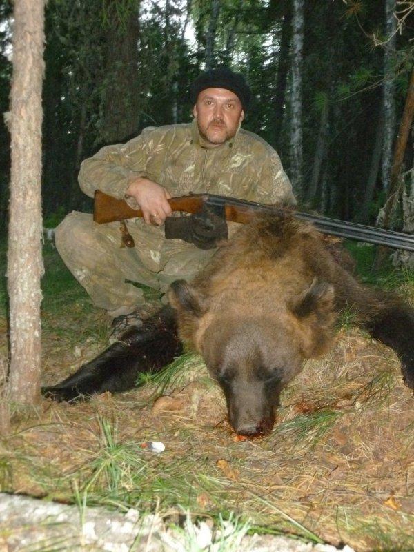 Медведь 170 кг. 5.08.2016
