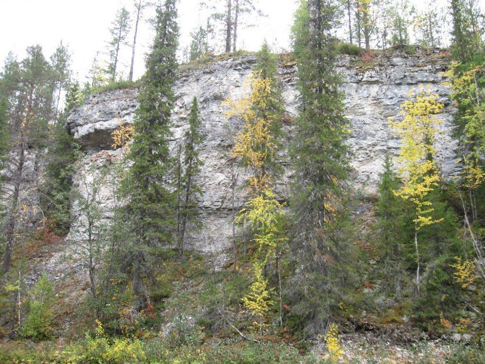 скалы, тиманский кряж