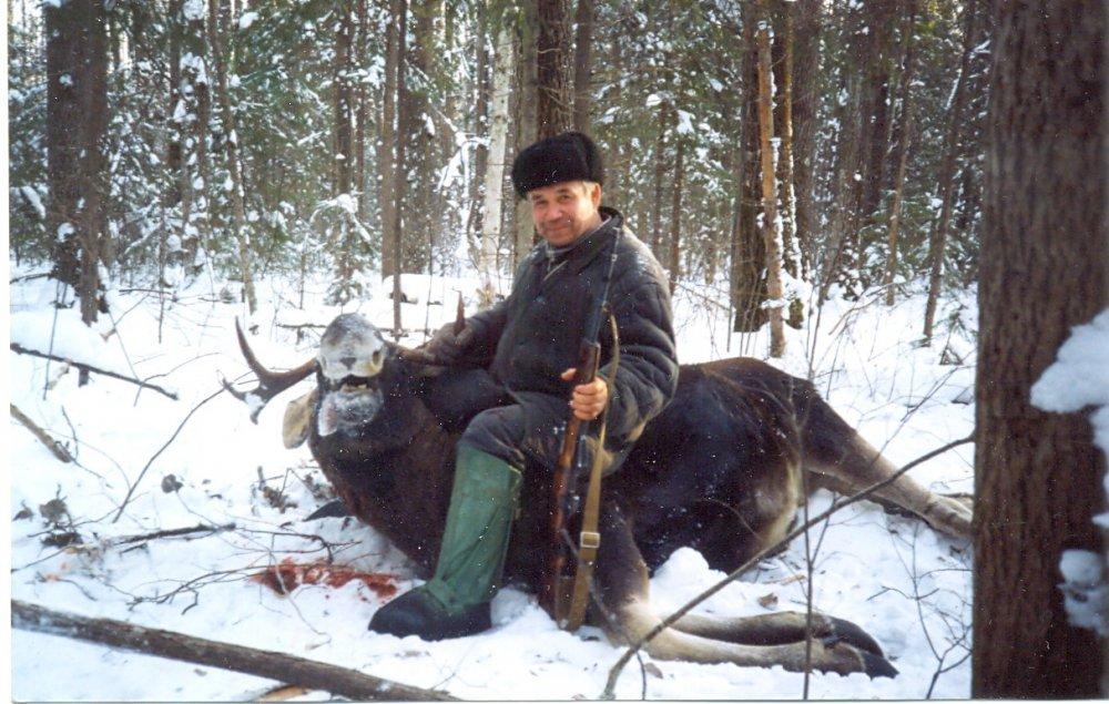 Еще одна из коллективных охот в Кировской области.