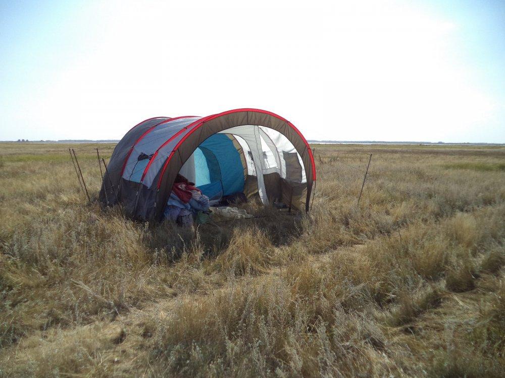 Палатка.