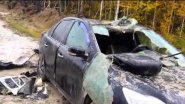 Медведь разорвал машину отомстил хозяину за дробь в заднице ХМАО