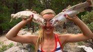 Приколы на рыбалке. Рыбаки жгут.