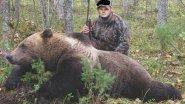 Охота на медведя в овсах!