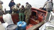 Уничтожение самоловов.Рейды  рыбоохраны.