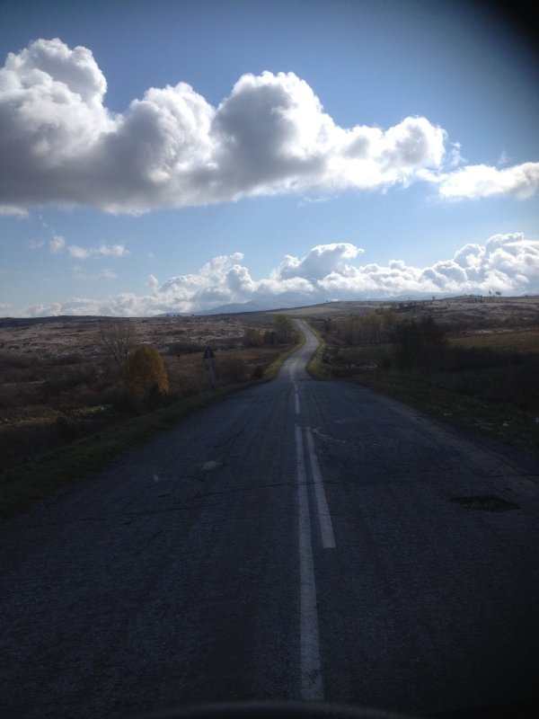 Дорога в облака .
