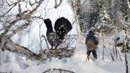 Охота на глухаря в Якутии