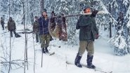 Опасная охота на медведя в просторах Крайнего Севера. Часть 1.