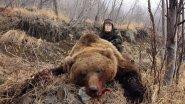 Охота на медведей! Захватывающая охота.