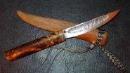 Настоящий Якутский нож из якутского железа. Изготовление.