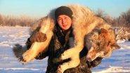 Охота на волка в Якутии.