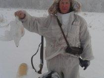Рейс по работе отменили из-за мороза-поехал на охоту.