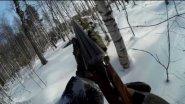 """Охота зимой. Охота на рябчика с манком. Манок на рябчика """"Чемпион"""". Hunting in russia"""