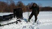 """Домкрат для снегохода , квадроцикла """" СПАСАТЕЛЬ"""""""