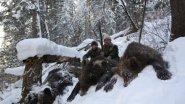 Охота на огромного Медведя! Часть 1.