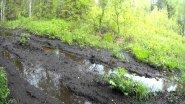 маленько  болотной грязи на КАРАКАТЕ