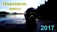 Подводная охота 2017, пруд. После ливня.