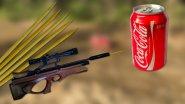 Бамбуковые шпажки VS  COCA COLA