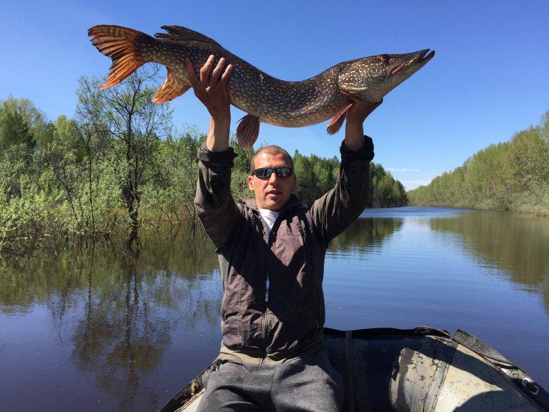 Рыбалка в томская области