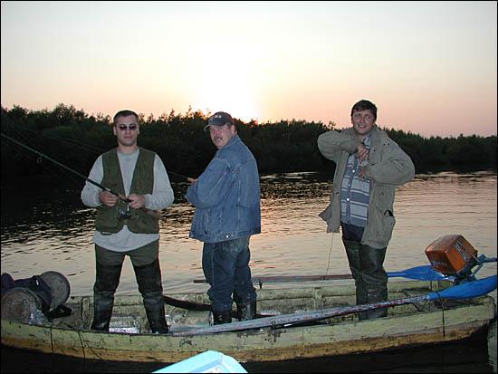 Вот они рыбаки: AlexS, OlegN, kkk