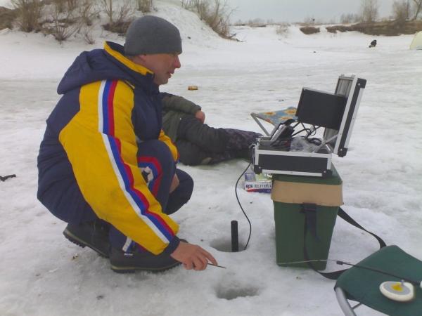 Тест подводной видеокамеры.