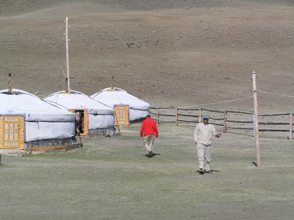 монгольские коттеджи