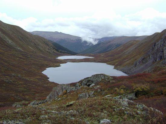 Форелевые озёра, высота 2400 м
