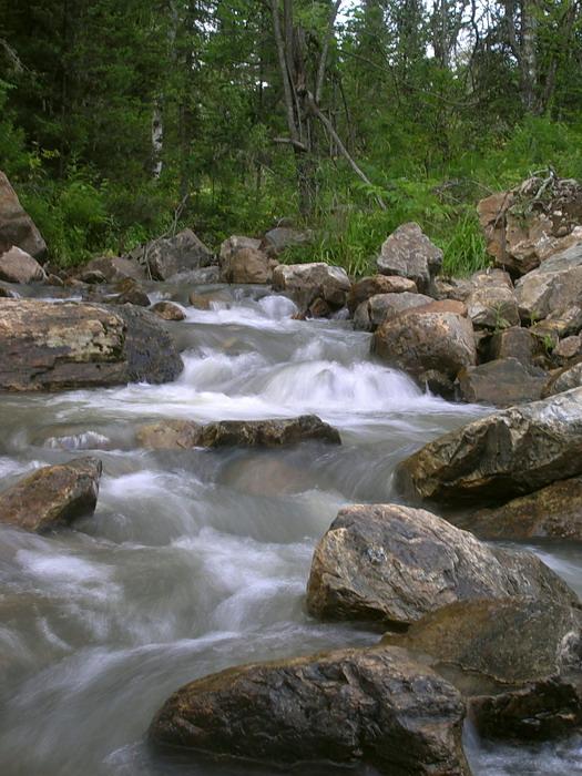 неизвестная река