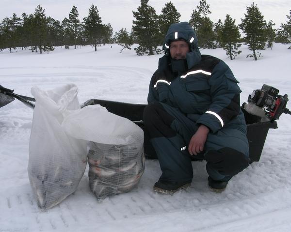 Большая и маленькая: ТОП-5 мест для зимней рыбалки в Новосибирске
