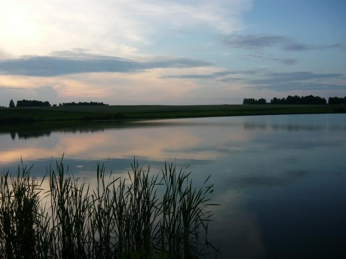 Озеро недалеко от Симана