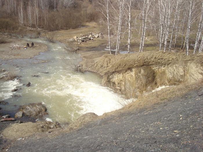 водопад в д.Белово