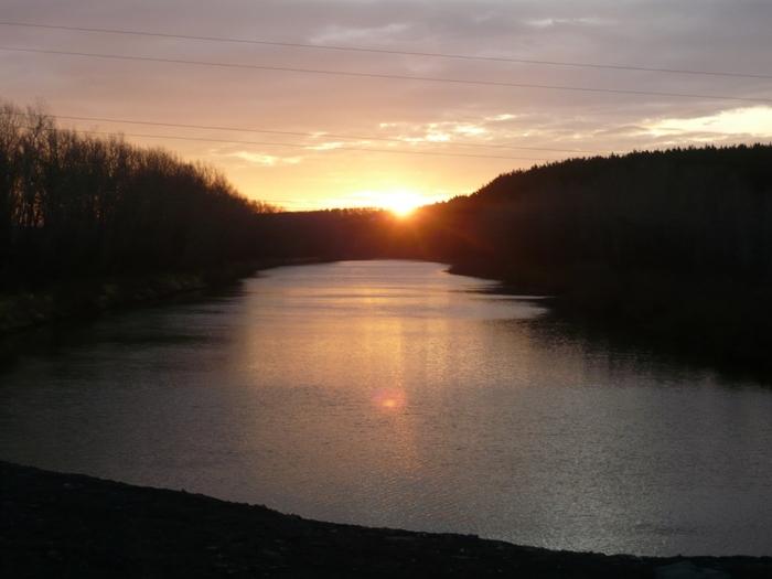 Восход над Бердью