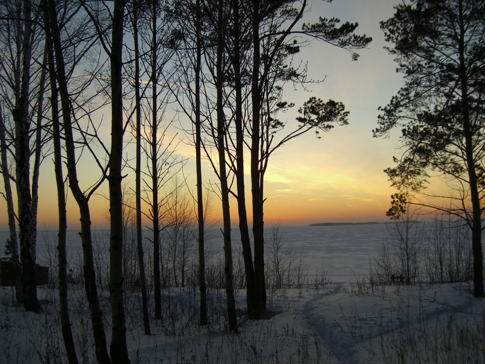 Закат на Боровских.
