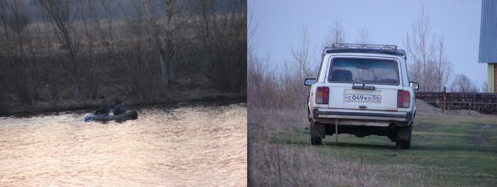 Браки проверка сетей. 3 мая 6 утра. река Чаус. д.Чаус.