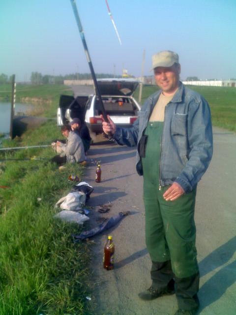 Sergeef  рыбалит !!!   )))