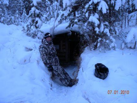 Ночлежка рыбаков (зимовье)