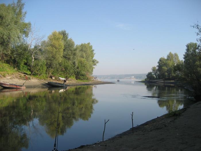 Впадение Угрюм-реки в Обь.