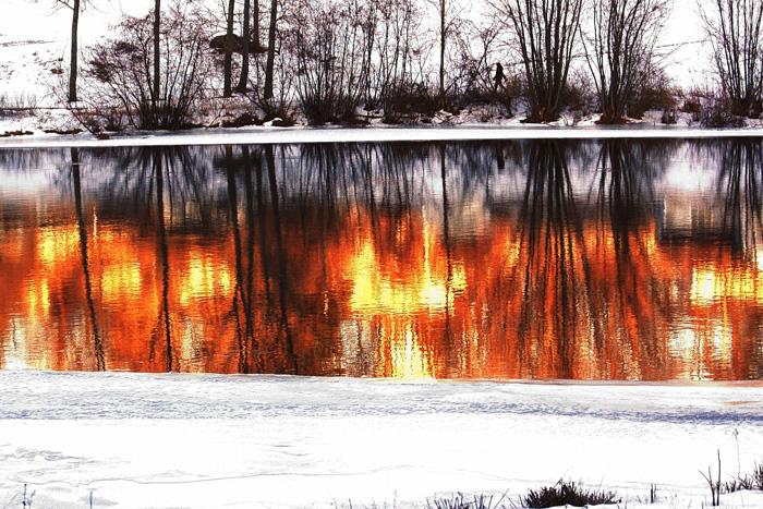Огненное озеро.