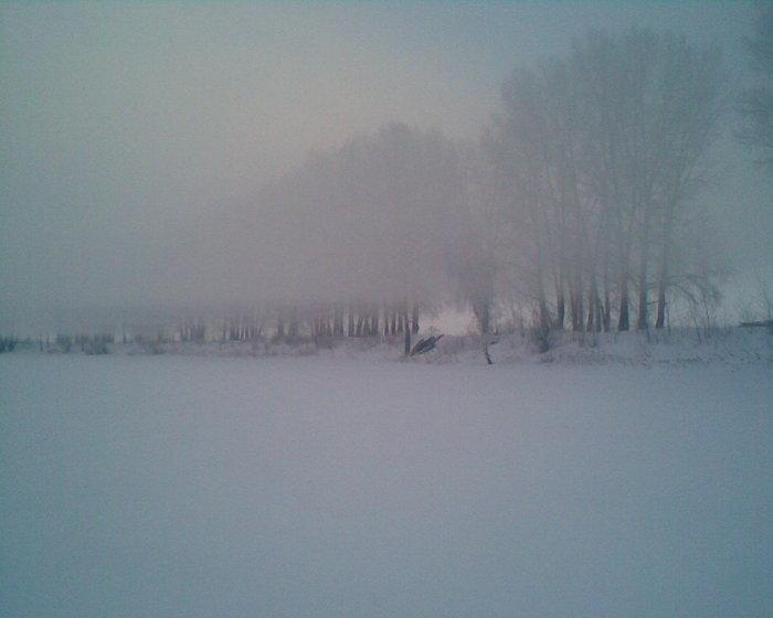 "Туман-туманище над ""Глухим"" стелится..."