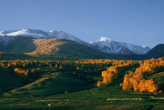 Восточно-Казахстанские просторы