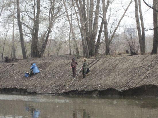 реконструированный берег тулки,крайне не удобен для рыбаков