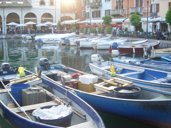 Причал для рыбацких лодок в Италии-г Лонато/ из командировки/