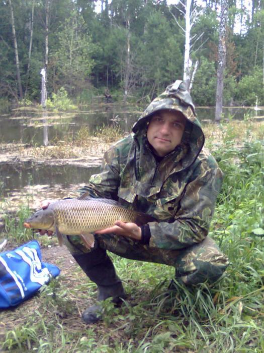 Окрестности Новосибирска 08.07.2010,карп вес 2 кг