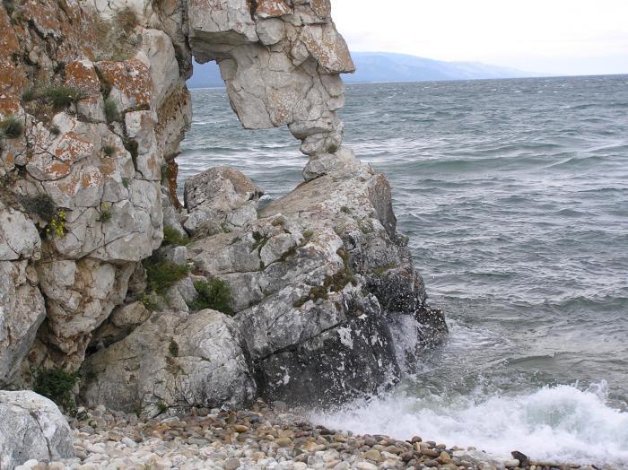Хребты. Малое море. Байкал.