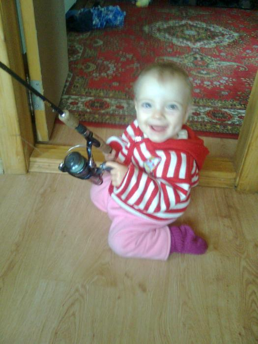 Любимая дочина игрушка